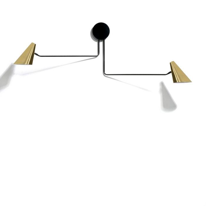 applique double bar a laiton am pm la redoute. Black Bedroom Furniture Sets. Home Design Ideas