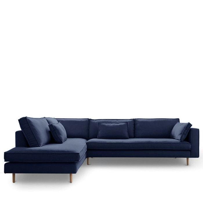 Canapé d\'angle gauche tissu stockholm Drawer | La Redoute