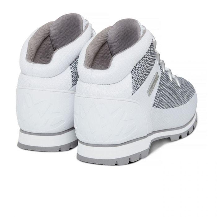 Sprint Euro Blanc Chaussures White Timberland Fabric E18 45gqdn