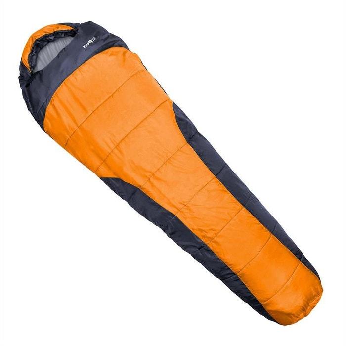 Gullfoss Sac de couchage 230x80x55cm 2 couches orange Jg8gBEh
