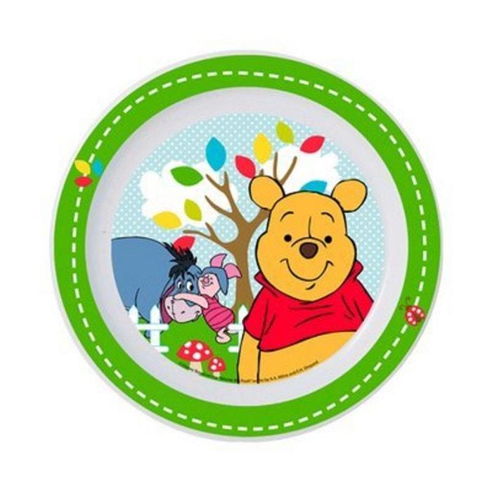 Baby walz l 39 assiette plate winnie l 39 ourson vaisselle enfant vert baby - La redoute vaisselle ...