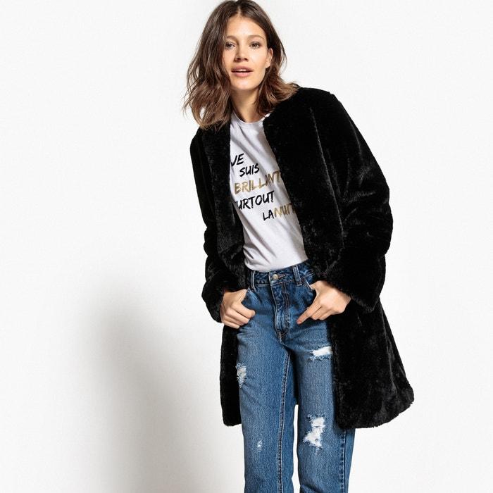 Faux Fur Coat  La Redoute Collections image 0