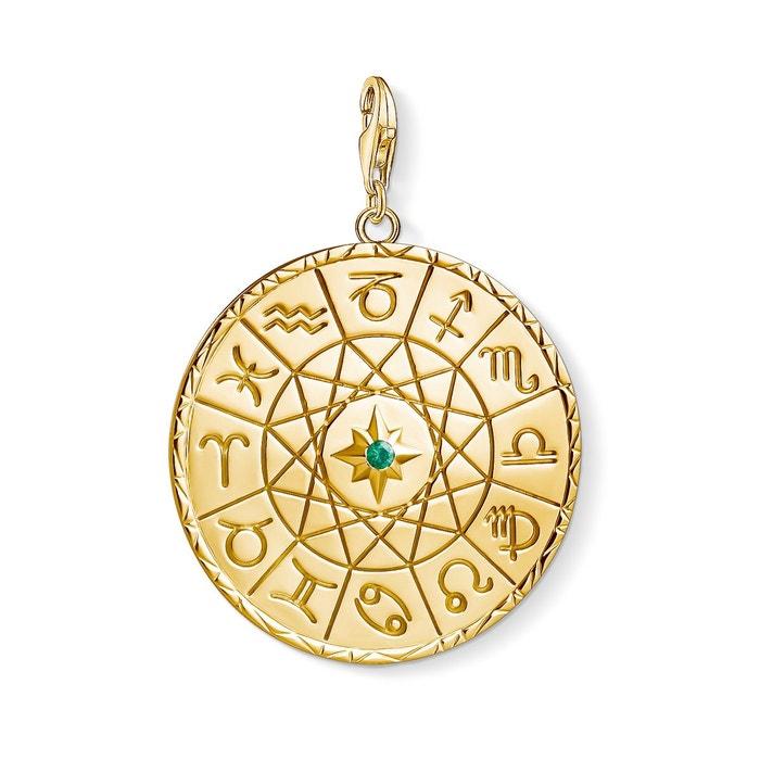 Pendentif signe zodiaque or
