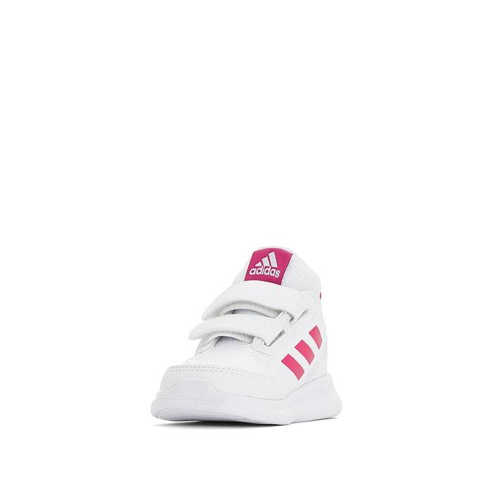 89a12fe084bd9e Sneakers met klittenband altarun wit/roze Adidas Performance   La ...