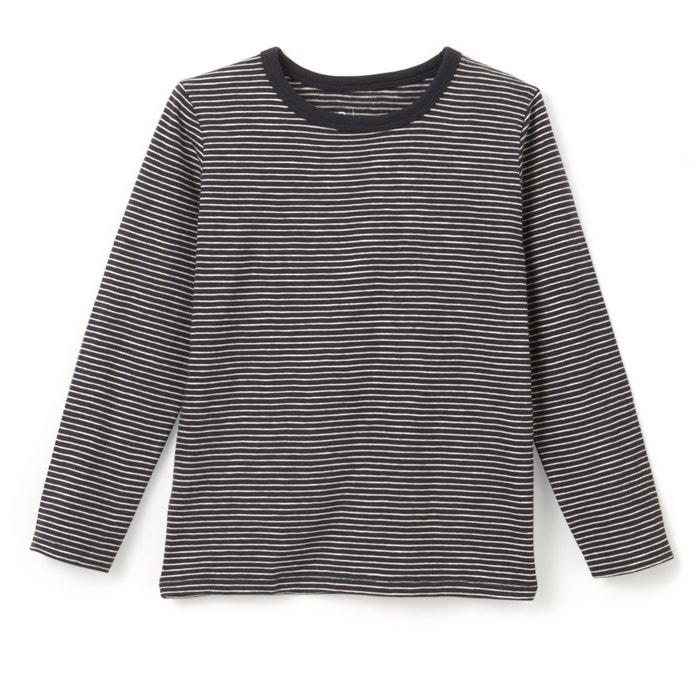 afbeelding Gestreept T-shirt met lange mouwen 3-12 jr R essentiel