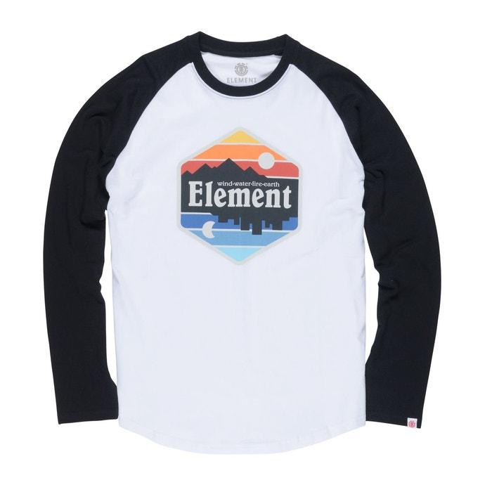 Tee Shirt White Dusk Redoute Element La Qtr Raglan Optic FBwUdFrx