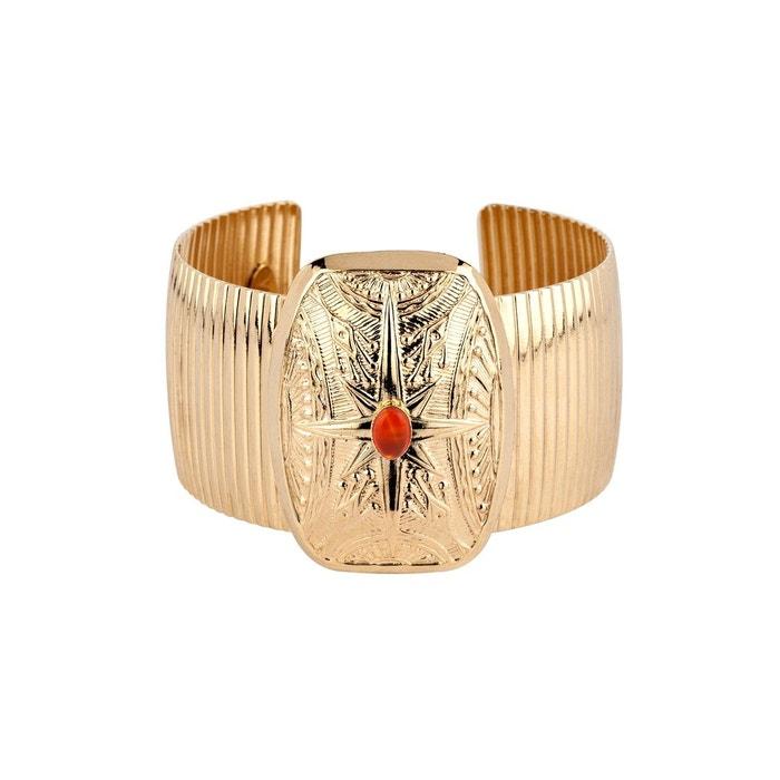 Manchette dorée yuma Luma Jewels   La Redoute Nouveau Style De La Mode Réduction Finishline Q2wkV1wOv