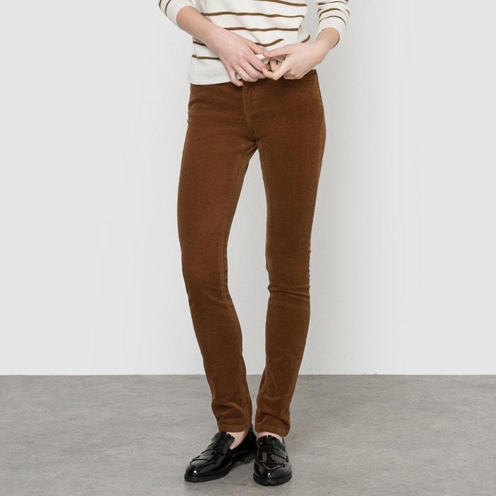 Image Pantaloni in velluto slim R essentiel