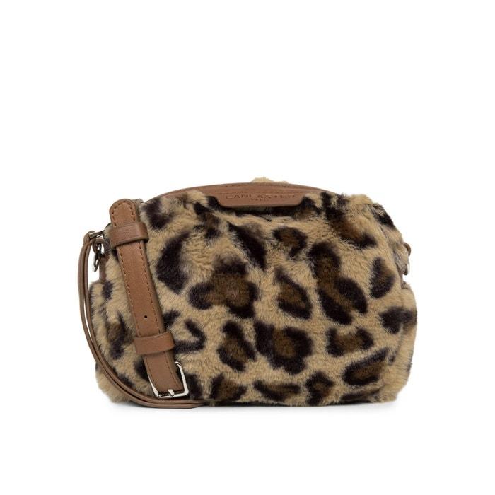 venta caliente barato clásico elegir oficial Bolso bandolera con estampado leopardo ACTUAL de pelo sintético