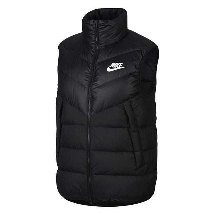 Doudoune sans manche windrunner noir Nike
