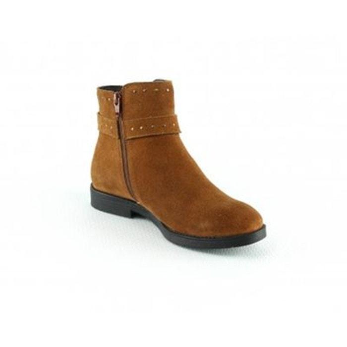 Shoes talon cuir fermeture de zip croute 2 Boots en 5cm Manoukian wYqCgWv