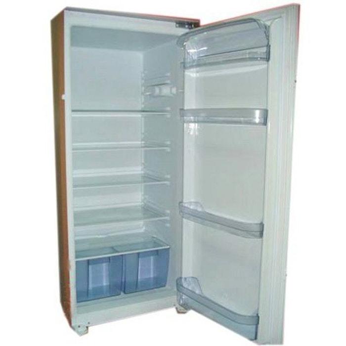 refrigerateur integrable 204l sogelux int2501 bois clair. Black Bedroom Furniture Sets. Home Design Ideas