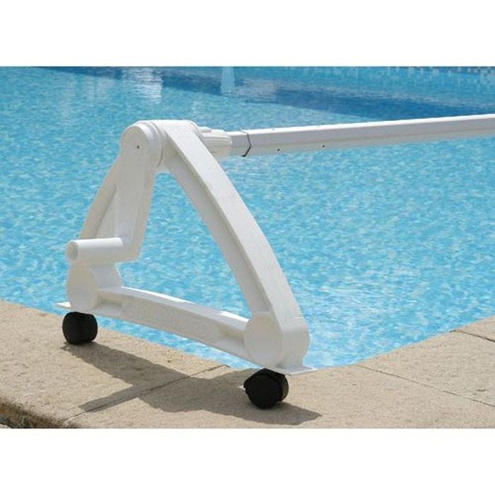 Enrouleur de b che pour piscine enterr e couleur unique Enrouleur de piscine enterree