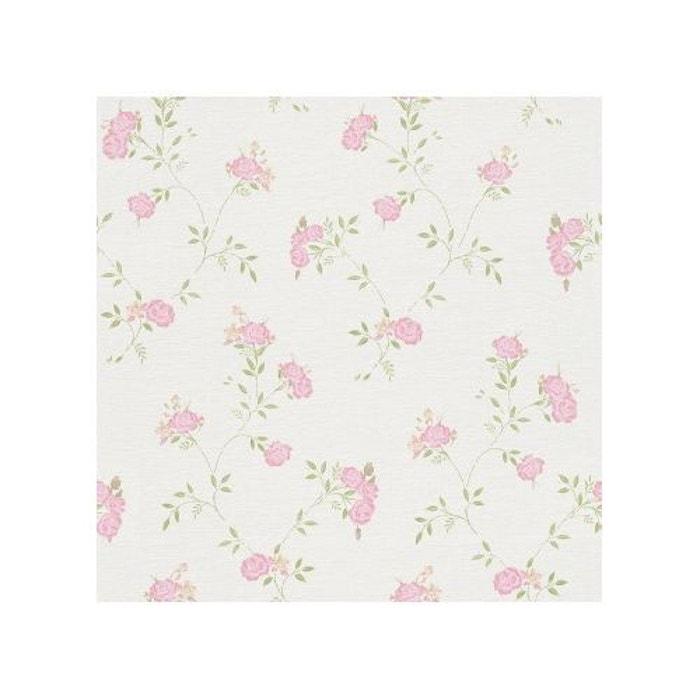 papier peint roses au gr s du vent home maison la redoute. Black Bedroom Furniture Sets. Home Design Ideas