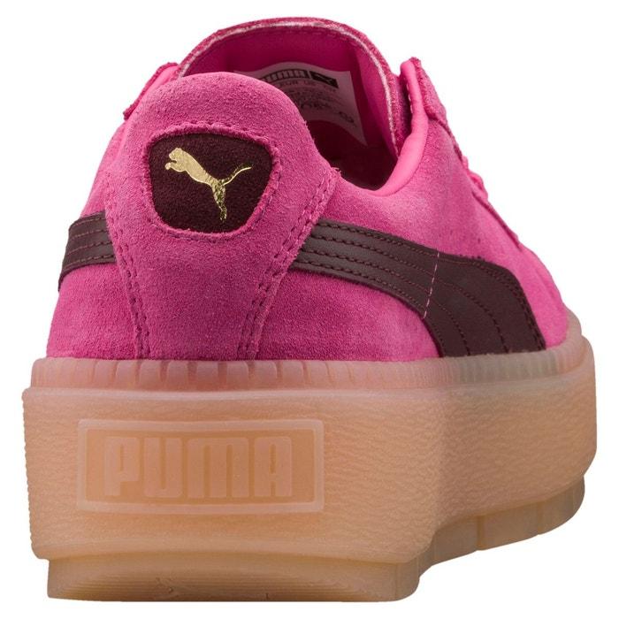 Basket platform trace block pour femme Puma