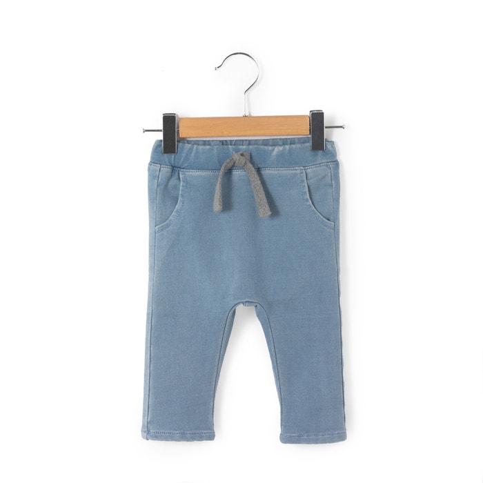 Image Sarouel en jean maille 0 mois-3 ans La Redoute Collections