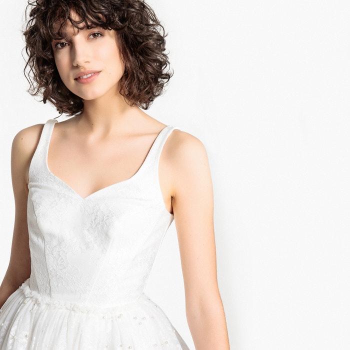 233; novia Vestido evas y perlas de MADEMOISELLE encaje R wPqaat
