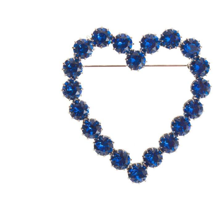 Broche lola bleue couleur unique Reine Rosalie   La Redoute La Vente En Ligne Officielle Images De Sortie Faible Frais D'expédition Pas Cher En Ligne Meilleur Endroit De La France En Ligne 8y3mkRM54
