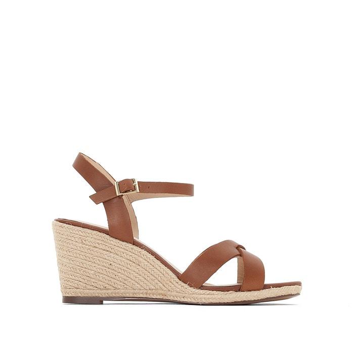 Image Espadrilles sandali con tacco a zeppa JONAK JONAK