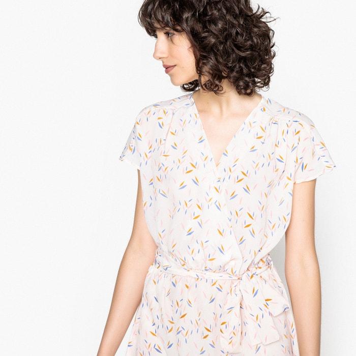 Vestido estilo quimono estampado, efeito largo  MADEMOISELLE R image 0