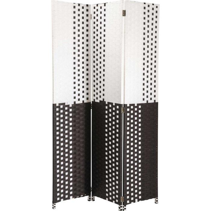paravent square kare design couleur unique kare design la redoute. Black Bedroom Furniture Sets. Home Design Ideas