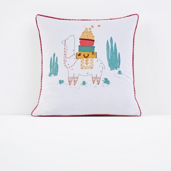Llama Printed Single Pillowcase  La Redoute Interieurs image 0