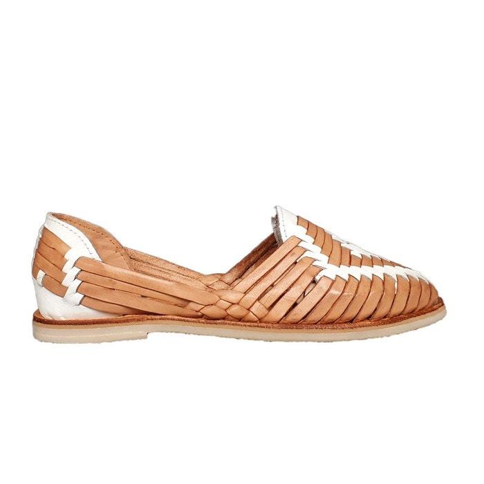 élégant et gracieux prix attractif variété de dessins et de couleurs Sandales en cuir tressé