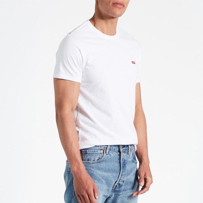 manga y cuello redondo con corta Camiseta LEVI'S EIwq8Xc