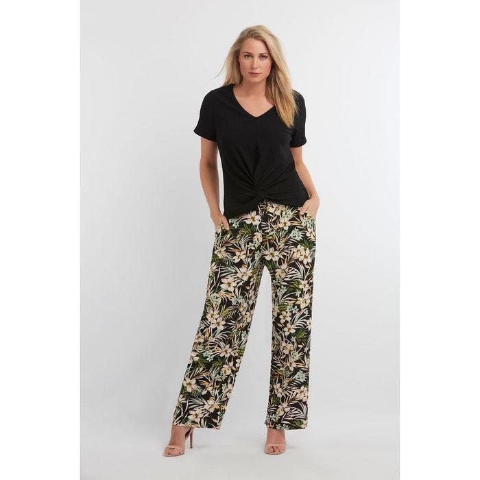 b3e90a4ff7c Pantalon large imprimé Ms Mode