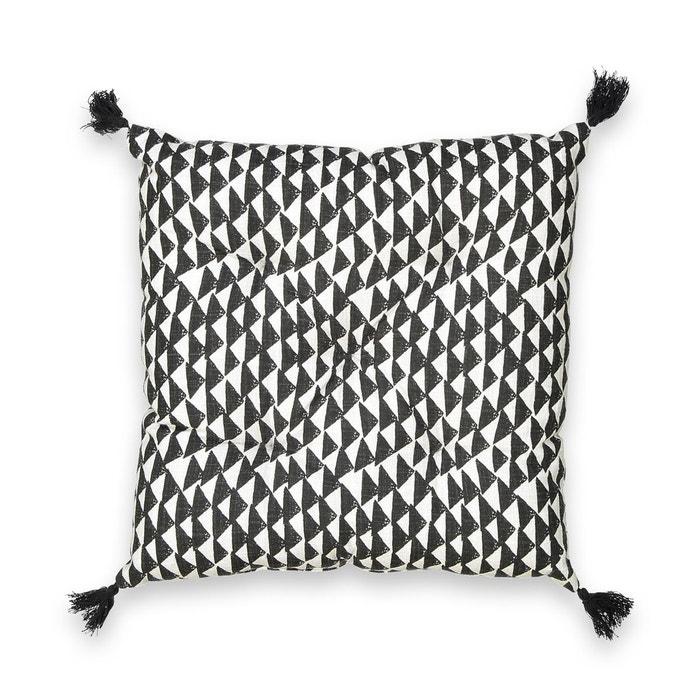 Galette De Chaise Tiebele Noir Blanc La Redoute Interieurs