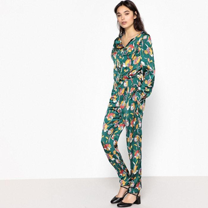 combinaison pantalon imprim e 70 39 s vert la redoute collections la redoute. Black Bedroom Furniture Sets. Home Design Ideas