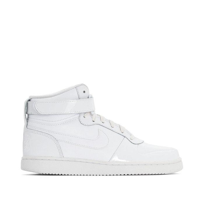 best loved 14509 ed72d Baskets montantes ebernon mid premium blanc Nike   La Redoute