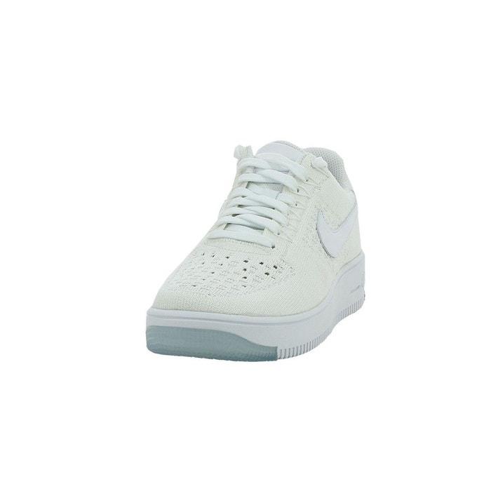 Basket nike air force 1 flyknit low - 820256-101 blanc Nike