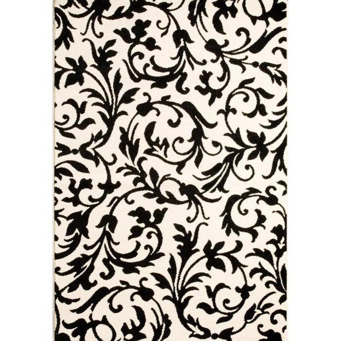 tapis baroque noir natacha b la redoute. Black Bedroom Furniture Sets. Home Design Ideas