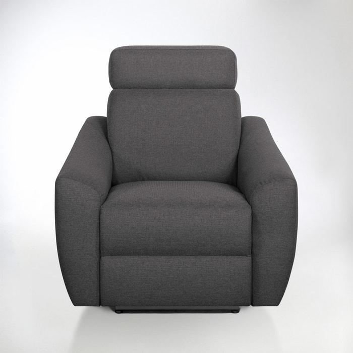 Image Fauteuil de relaxation électrique Nando en tissu chiné La Redoute Interieurs