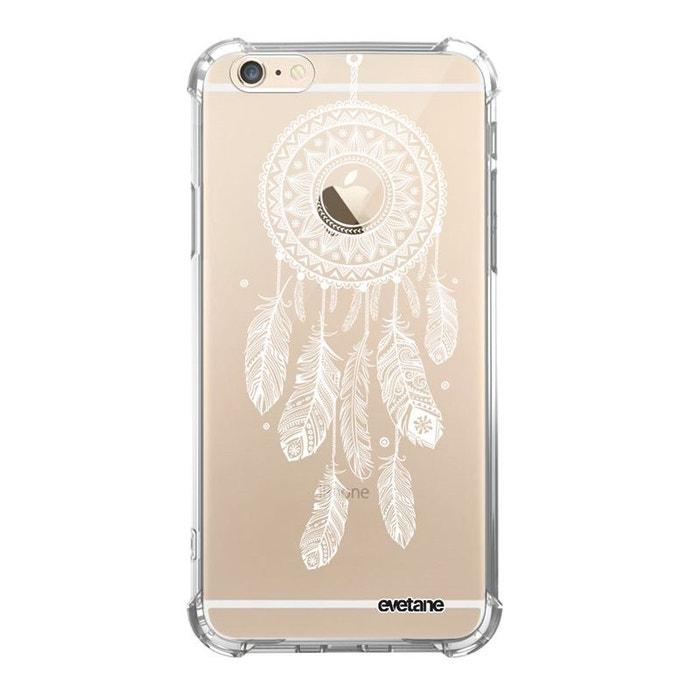 Coque iPhone 6 Plus / 6S Plus silicone anti-choc souple avec angles renforcés transparente