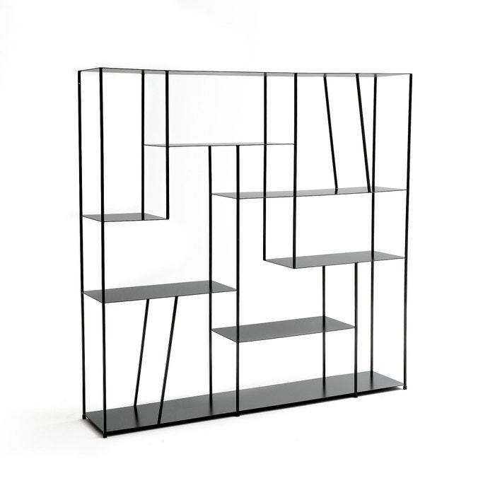 b cherregal aus metall kanato schwarz am pm la redoute. Black Bedroom Furniture Sets. Home Design Ideas
