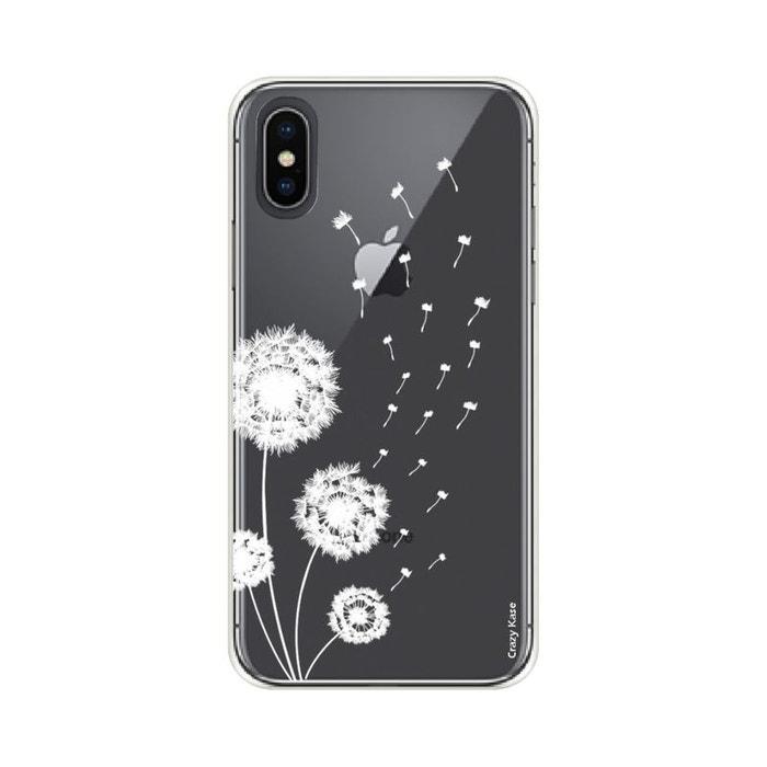 Coque pour iPhone Xs souple Fleurs de pissenlit