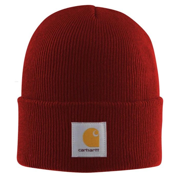 Bonnet tricoté rouge Carhartt   La Redoute Meilleure Vente En Gros En Ligne Bon Marché De Nombreux Types De Sites De Vente À Bas Prix Réduction De 100% Authentique KVkXD