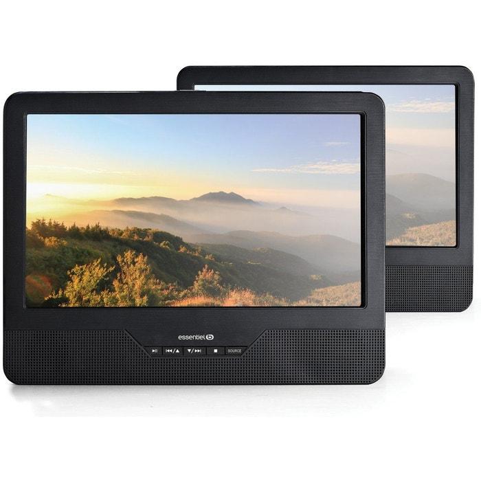 lecteur dvd portable double cran essentielb mobili ms9 support voiture essentiel b la redoute. Black Bedroom Furniture Sets. Home Design Ideas