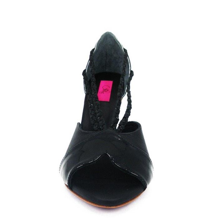 Chaussures femme en cuir elfa Pring Paris