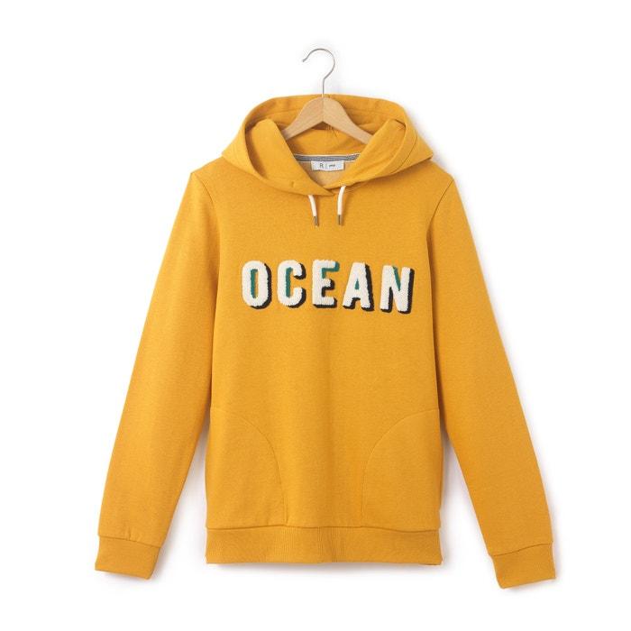 afbeelding Bedrukte sweater met kap 10 - 16 jr La Redoute Collections