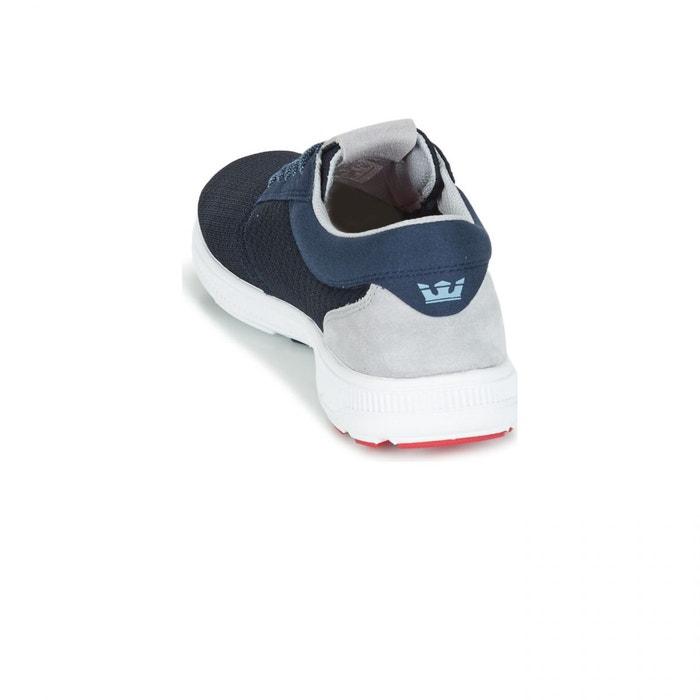 Chaussures hammer run navy/white bleu Supra