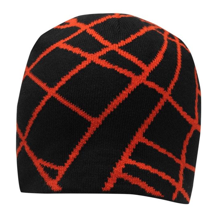 Chapeau de ski bonnet polaire noir, rouge Spyder | La Redoute