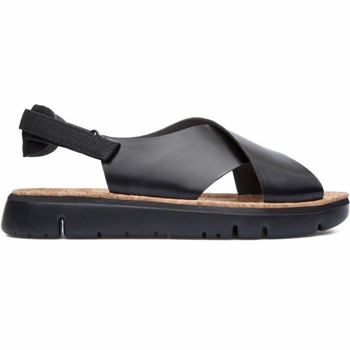 Sandales cuir ogao noir Camper Images Bon Marché Vente De Footlocker b1wZFW9wvX