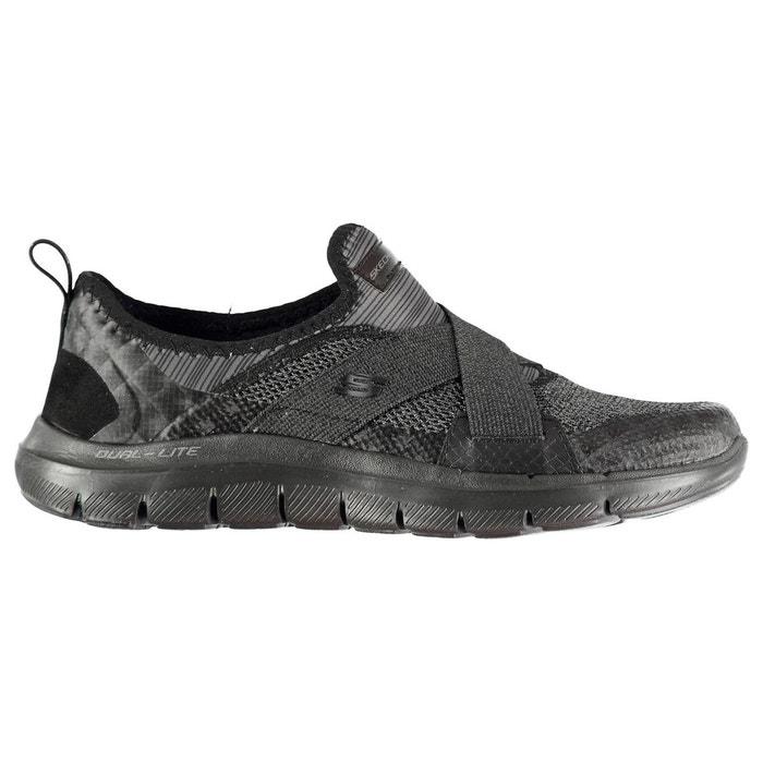 Baskets de running  noir Skechers  La Redoute