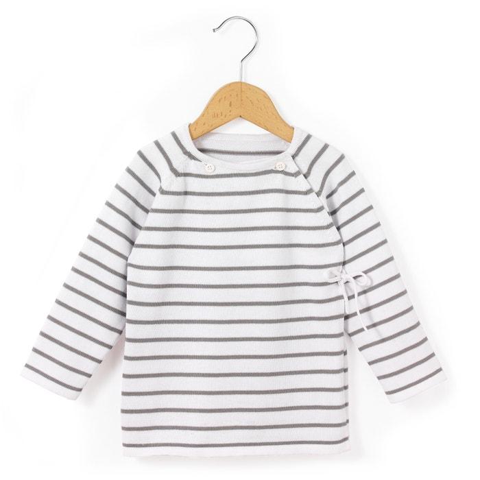 Camiseta cruzada para bebé unisex estándar  La Redoute Collections image 0