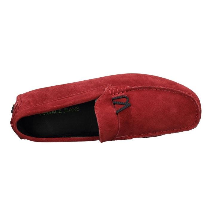 Basket e0 yrbsf2 mocassin rouge Versace