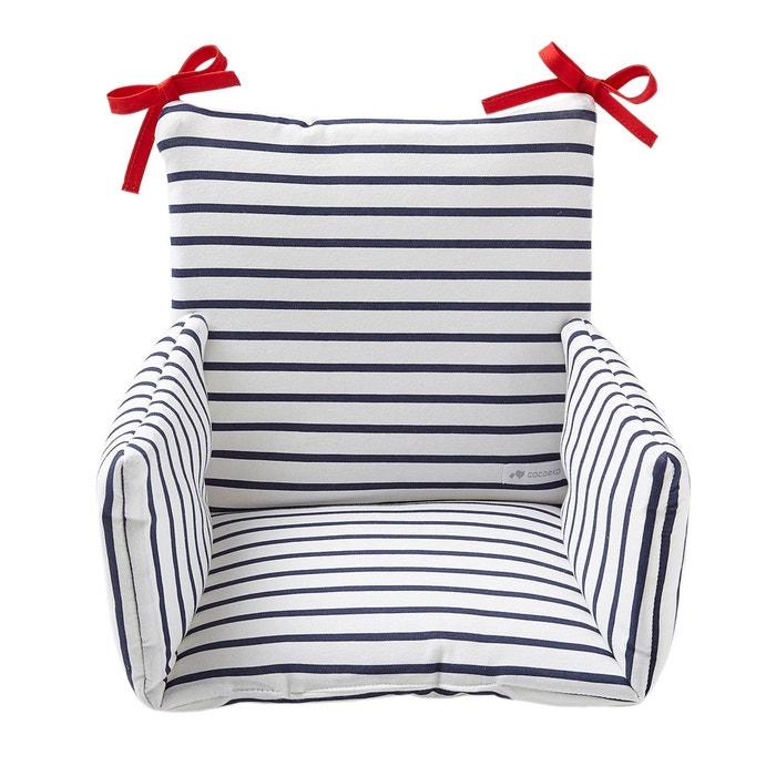 Coussin Chaise Haute Bebe Confort Coton Oeko Tex Mariniere