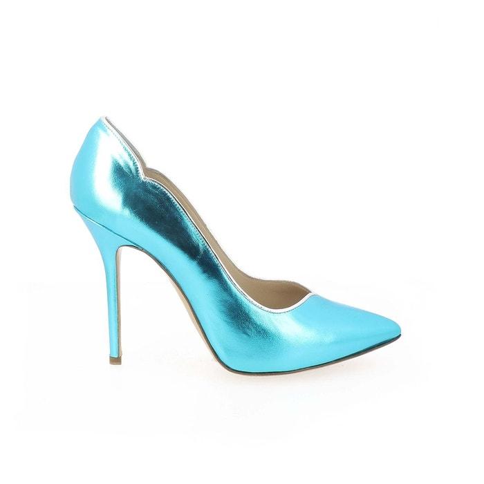 Prix De Gros Prix Pas Cher Réduction Manchester Chaussures escarpin eva cuir laminé Polina Magyi Vente Faible Coût En Ligne gon8t7m